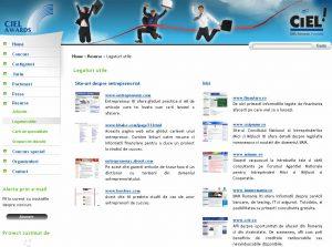 Sectiunea de Resurse a site-ului