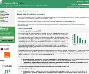 Selenis a publicat rezultatele unei cercetari despre perceptia bloggerilor asupra CSR